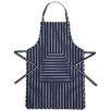 Kitchen Craft Cotton Butcher's Striped Apron