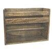 Castleton Home Wood Kitchen Roll Holder and Shelf