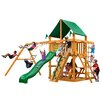 Gorilla Playsets Chateau II with Amber Posts and Canopy Cedar Swing Set