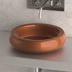 Maestro Bath Zero Glo Ball Shiny Circular Vessel Bathroom Sink