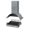 Sarom Conversion Kit for Wood-Fired Barbecues