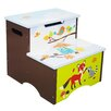 Fantasy Fields Enchanted Woodland Step Stool with Storage
