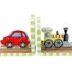 Transportation Book End (Set of 2)