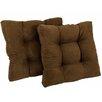 Blazing Needles Chair/Rocker Cushion (Set of 2)