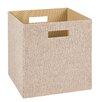 ClosetMaid Decorative Storage Fabric Bins