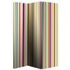 Arthouse 150cm x 120cm Bright Stripe Screen 3 Panel Room Divider