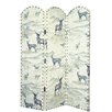 Alpen Home 150cm x 120cm Kenai Fjords 3 Panel Room Divider
