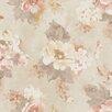 Galerie Home Vintage Damask Rose 10m L x 53cm W Floral and Botanical Roll Wallpaper