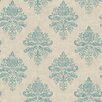 Galerie Home Vintage Climbing Floral 10m L x 53cm W Damask Roll Wallpaper