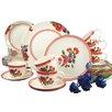 Creatable Sunny Summer 30 Piece Dinnerware Set, für 6 Personen