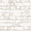 Galerie Home Steampunk 10m L x 53cm W Brick, Wood and Stone Roll Wallpaper