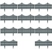 Home Etc Pale Fence (Set of 17)