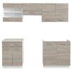 Home Etc 5-Piece Kitchen Cabinet Set
