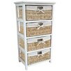 Wildon Home Maize 4 Drawer Cabinet