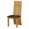 Hazelwood Home Neston Solid Wood Upholstered Dining Chair (Set of 2)