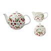 Ulster Weavers RHS Strawberry 3 Piece Bone China Tea Set