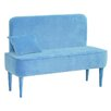 HappyBarok Pastel Upholstered Bedroom Bench