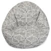 Majestic Home Goods Charlie Classic Bean Bag Chair