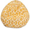 Majestic Home Goods Athens Classic Bean Bag Chair
