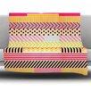 KESS InHouse Decorative Tape by Louise Machado Fleece Throw Blanket