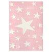 Livone GmbH Stars Children's Rug in Pink