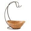 Andover Mills Chippewa Wavy Bamboo Bowl and Fruit Tree with Banana Hook