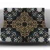 KESS InHouse Golden Fractals Throw Blanket