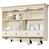 dCor design Fluvia Wall mounted Display Cabinet