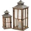 Alpen Home Bayfield 2 Piece Lantern Set