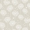 NuWallpaper Dandelion 5.5m L x 52cm W Floral and Botanical Roll Wallpaper