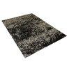 Vercai Rugs Brilliant Dark Grey Area Rug