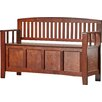 Andover Mills Sybil Wood Storage Entryway Bench Amp Reviews