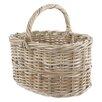 Castleton Home Rattan Straight Shopper Basket