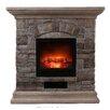 OK Lighting Portable Electric Fireplace