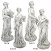Design Toscano 4 Piece Goddesses of the Four Seasons Statue Set