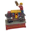 Design Toscano Stagecoach Strongbox Die-Cast Iron Mechanical Coin Bank