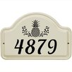 Whitehall Products 1-Line Wall Address Plaque