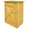 Habau 2.5ft W x 2ft D Wooden Storage Shed