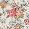 FABLON 45 cm x 2m Roll Romance Floral Sticky Back Plastic Film