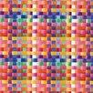 FABLON 45 cm x 2m Roll Basket Multicolour Sticky Back Plastic Film