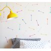 Bright Dainty Arrows Wall Decal