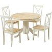 Breakwater Bay Bartett Dining Set with 4 Chairs