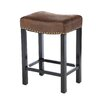 "Charlton Home Springfield 26"" Bar Stool with Cushion"