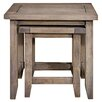 Hazelwood Home Alsager 2 Piece Nest of Tables