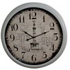 Hazelwood Home Column 92cm Wall Clock
