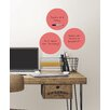WallPops! Coral Dry Erase Dot Wall Decal (Set of 6)