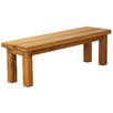 Alpen Home The Village Outlaw Wood Dining Bench