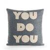 Alexandra Ferguson You Do You Throw Pillow