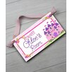 Toad and Lily Princess Personalized Bedroom Door Sign