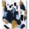 Oliver Gal Artana 'Fugaz' Graphic Art Wrapped on Canvas